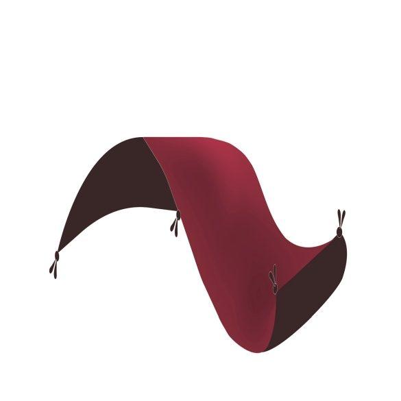 Okruhly koberec Afshar Red 150x150 koberec do obývačky / Perzske koberce